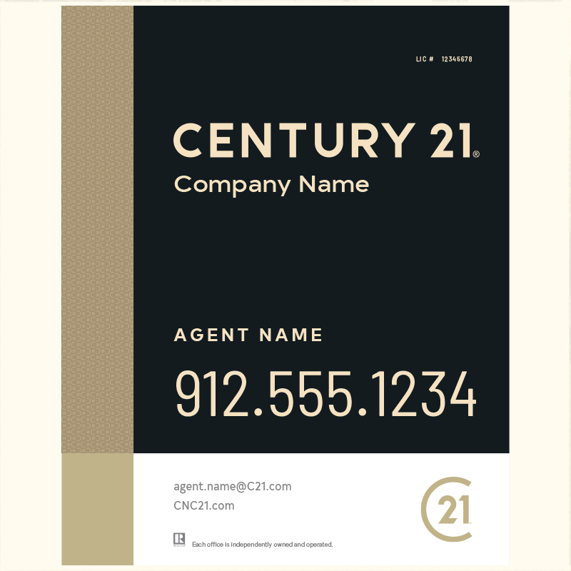 Century 21® Hanging Sign Panels-30X24RA_DES3BHC_200