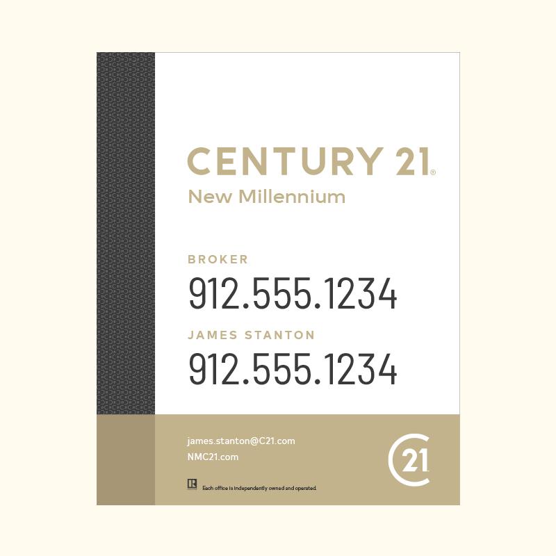 Century 21® Hanging Sign Panels-30X24RA_DES3WP2_200