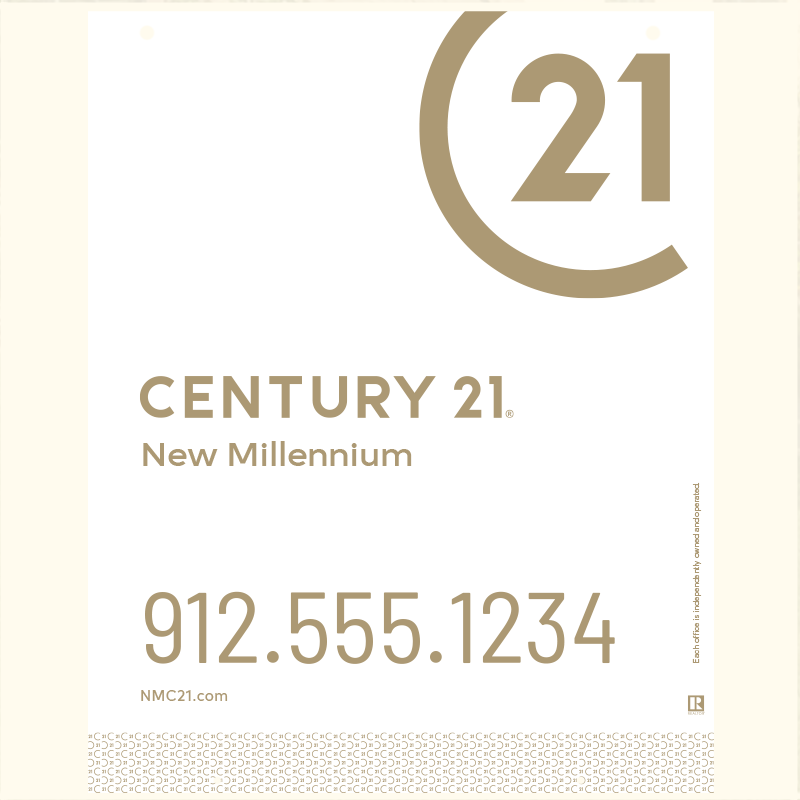 Century 21® Hanging Sign Panels-30X24RO_DES2W_200