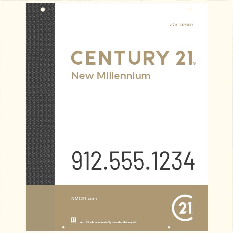 Century 21® Hanging Sign Panels-30X24RO_DES3W_200