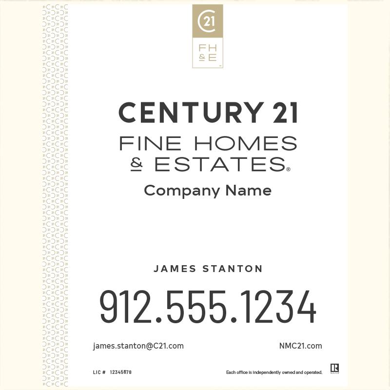 Century 21® Hanging Sign Panels-30X24_FHE_AGT1_200