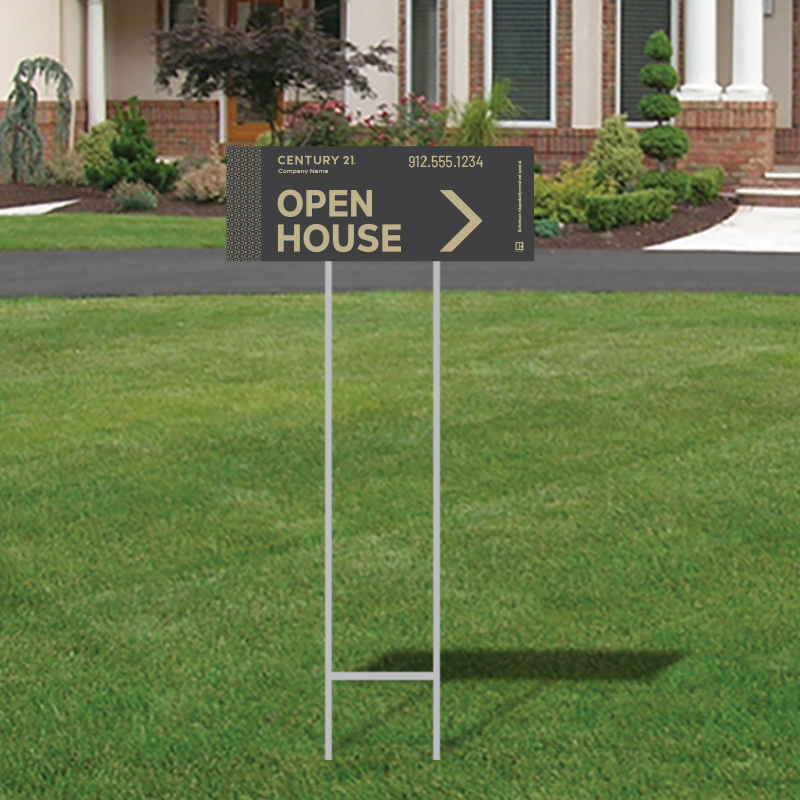 Century 21® Open House & Directional Signs-974_9X24_200