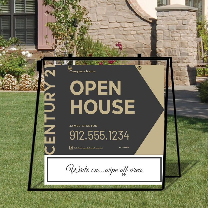 Century 21® Open House & Directional Signs-MA30_24X24_200