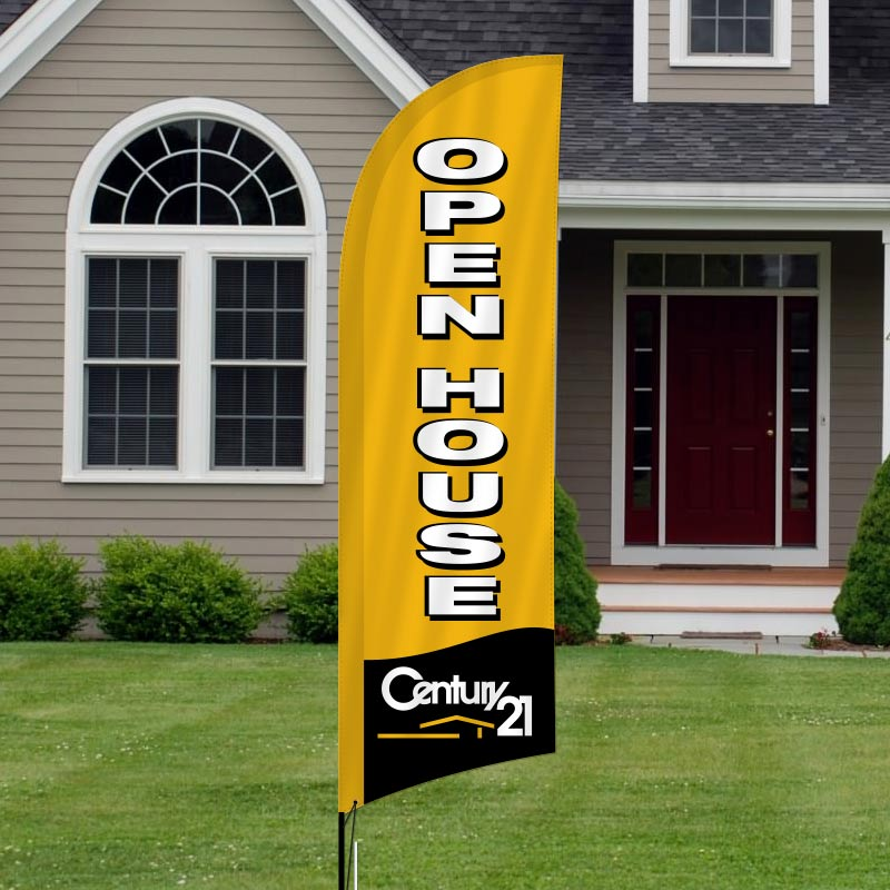 Century 21 Feather Flags-211FF_76