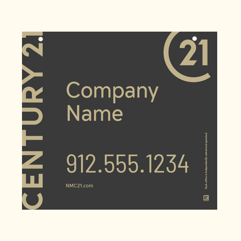 Century 21® Hanging Sign Panels-22X24HO_DES1B_200