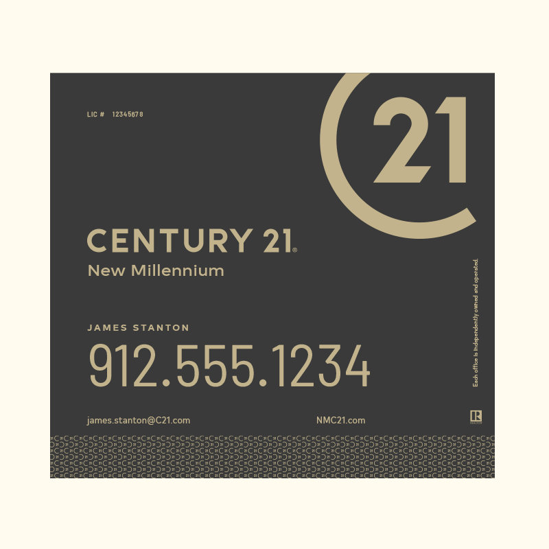 Century 21® Hanging Sign Panels-22X24RA_DES2B_200