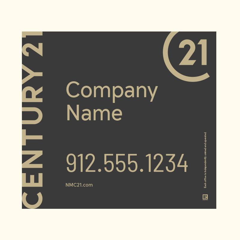 Century 21® Hanging Sign Panels-22X24RO_DES1B_200
