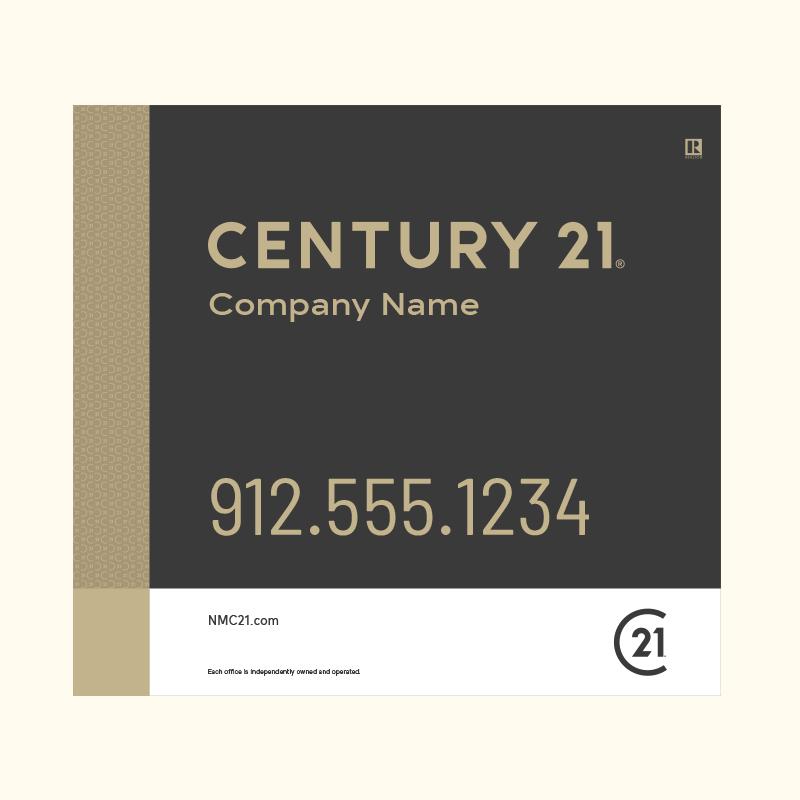 Century 21® Hanging Sign Panels-22X24RO_DES3B_200