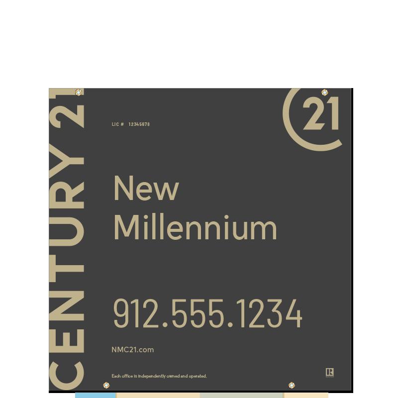 Century 21® Hanging Sign Panels-24X24HO_DES1B_200