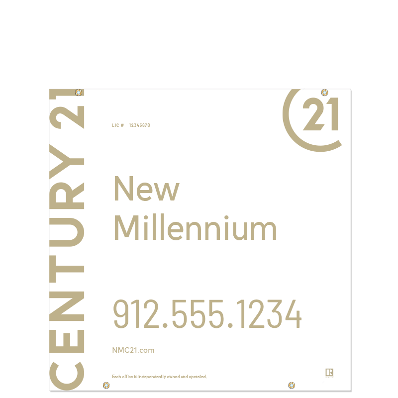 Century 21® Hanging Sign Panels-24X24HO_DES1W_200