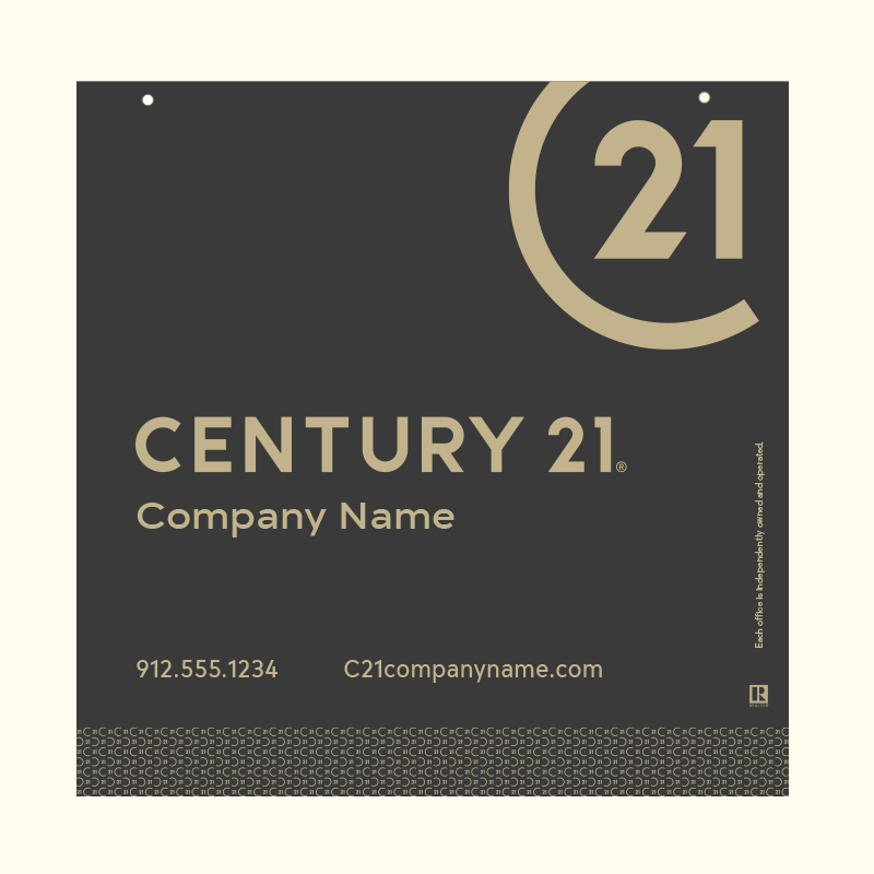 Century 21® Hanging Sign Panels-24X24HO_DES2BP_200
