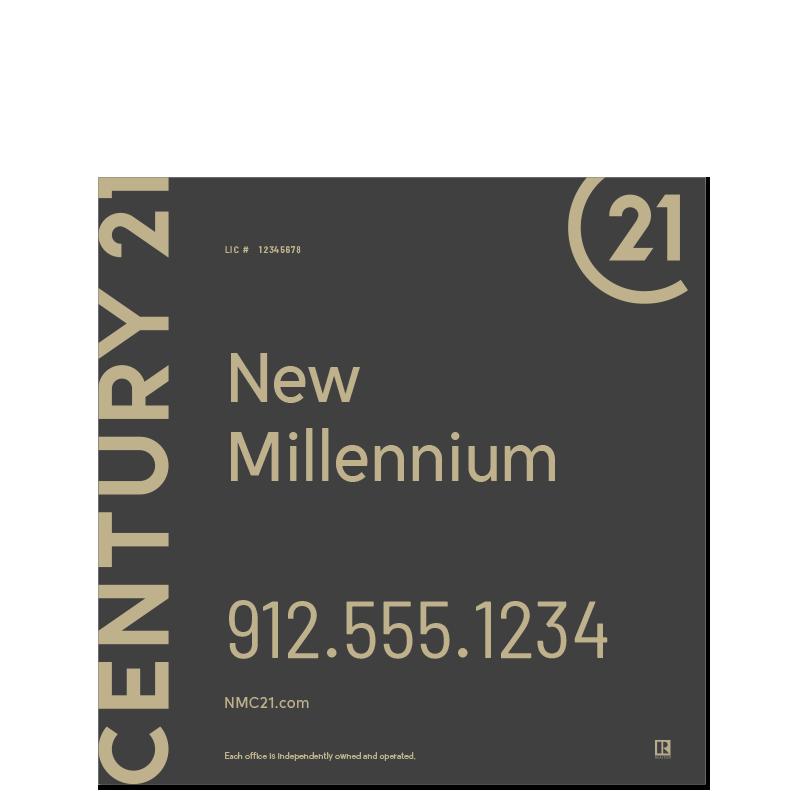 Century 21® Hanging Sign Panels-24X24RO_DES1B_200