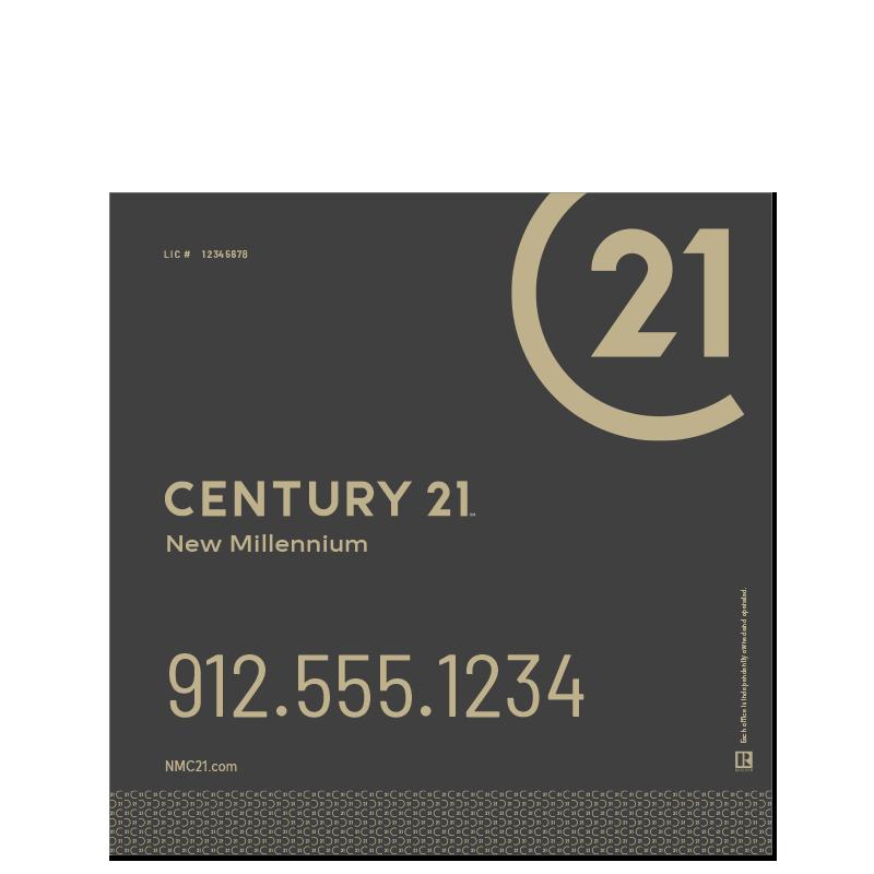 Century 21® Hanging Sign Panels-24X24RO_DES2B_200