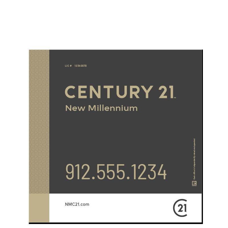 Century 21® Hanging Sign Panels-24X24RO_DES3B_200