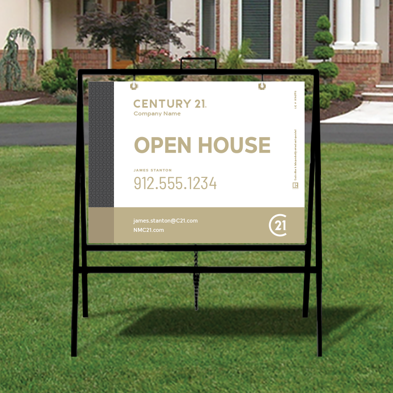 Century 21® Open House & Directional Signs-A229_STD_200