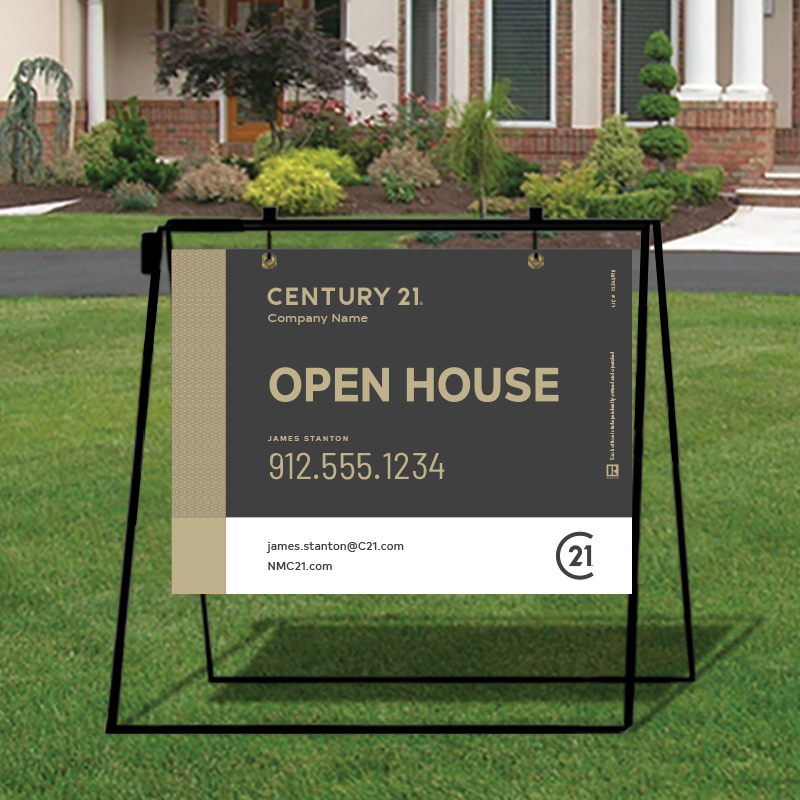 Century 21® Open House & Directional Signs-MA30_18X24_200