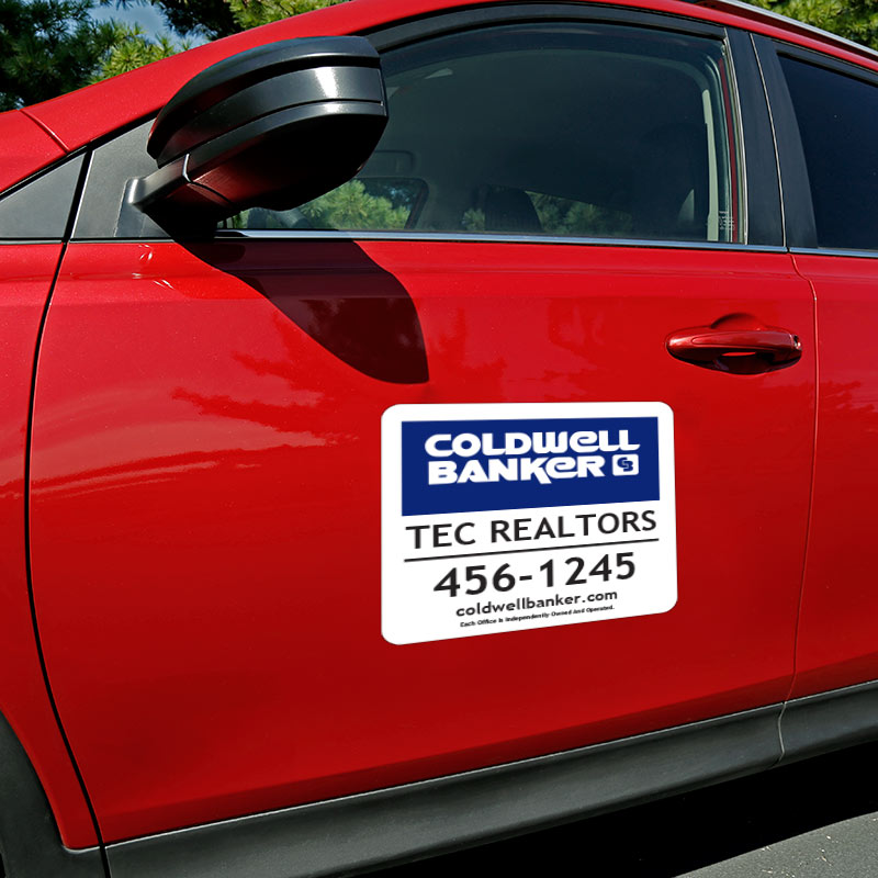 Coldwell Banker Magnetic Car Signs-11X12_MAG_1