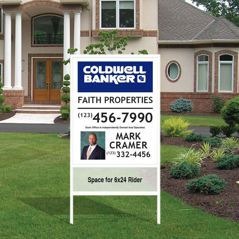 Coldwell Banker Slip-in Sign Units-Photo-252CB