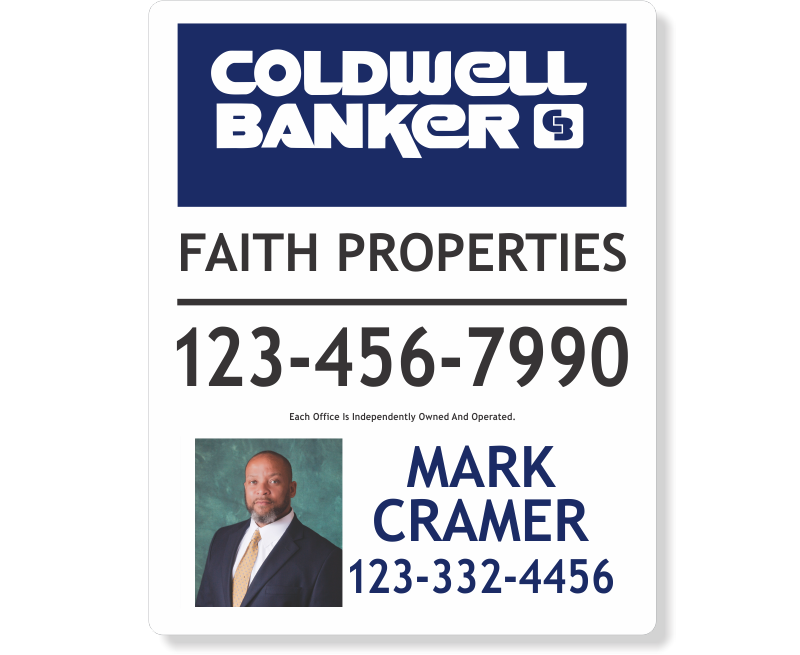 Coldwell Banker Replacement Signs - Photo-30X24_REP_1