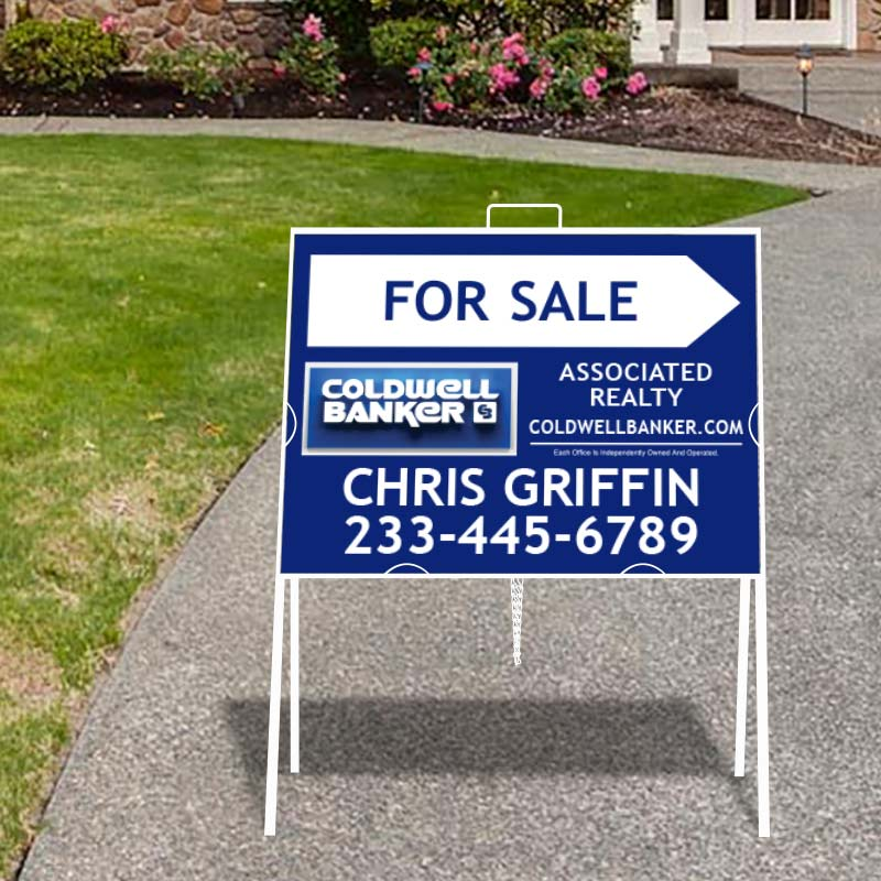 Coldwell Banker Open House & Directional Signs-A218MCB