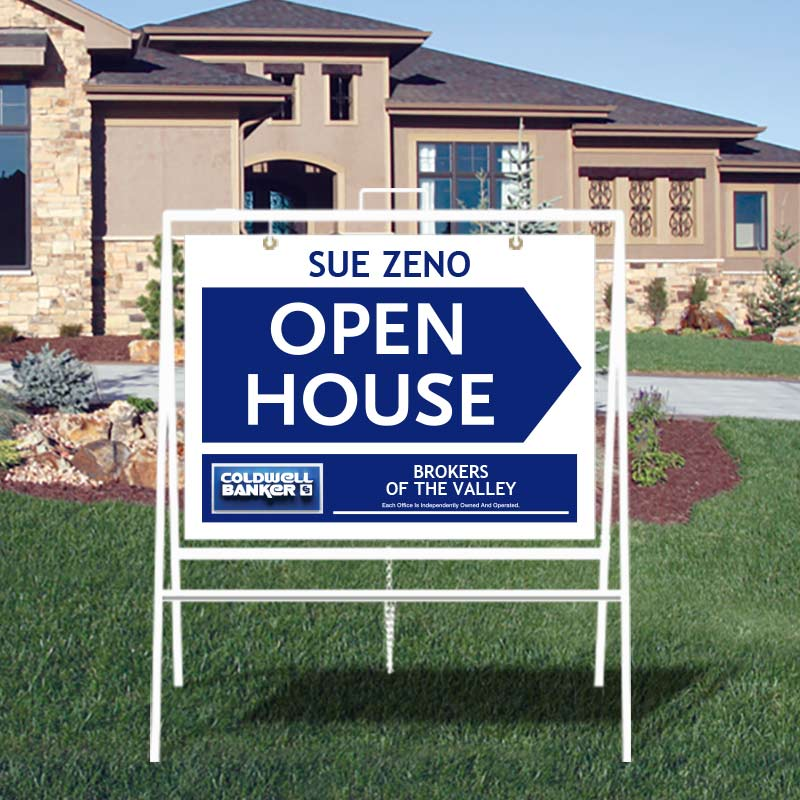 Coldwell Banker Open House & Directional Signs-A229MCB