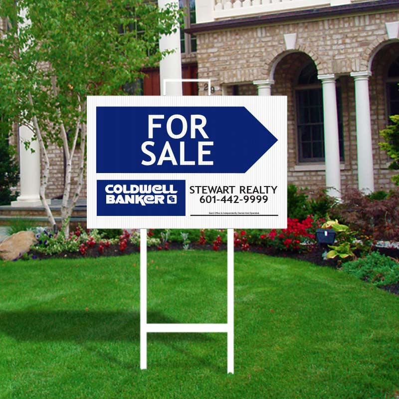 Coldwell Banker Open House & Directional Signs-A294MCB