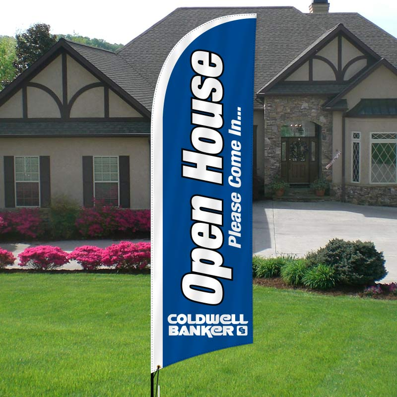Coldwell Banker Feather Flags-CB3FF_1