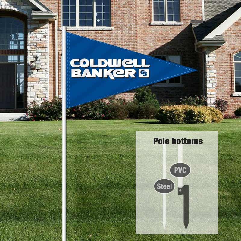 Coldwell Banker Pennant Flag-CLDBKR01_FLG_1
