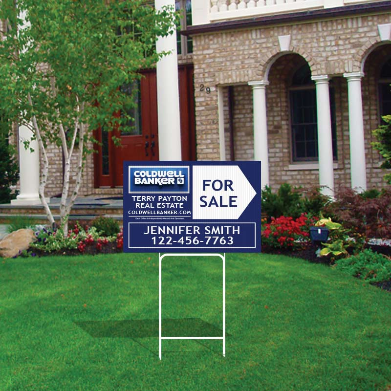 Coldwell Banker Open House & Directional Signs-H30H_12X18_1