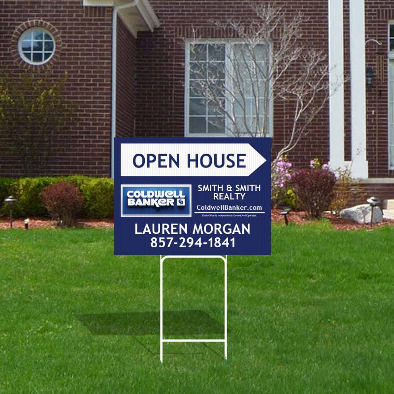 Coldwell Banker Open House & Directional Signs-H30H_18X24_1
