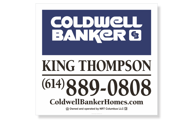 Coldwell Banker King Thompson Replacement Signs-22X24_STD_164