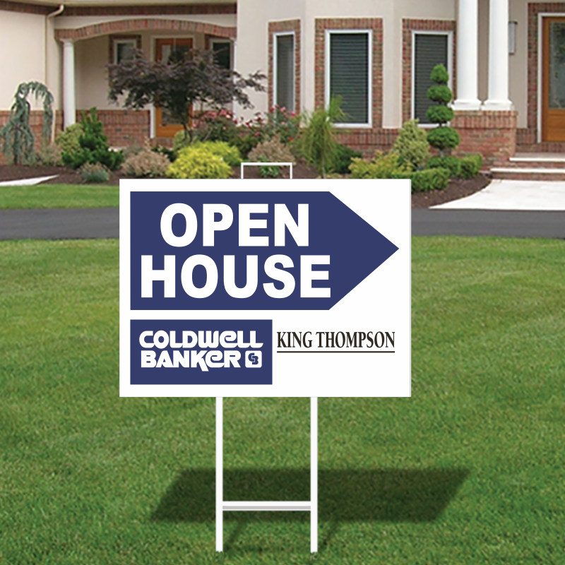 Coldwell Banker King Thompson Open House Directional Signs-292_OH_164