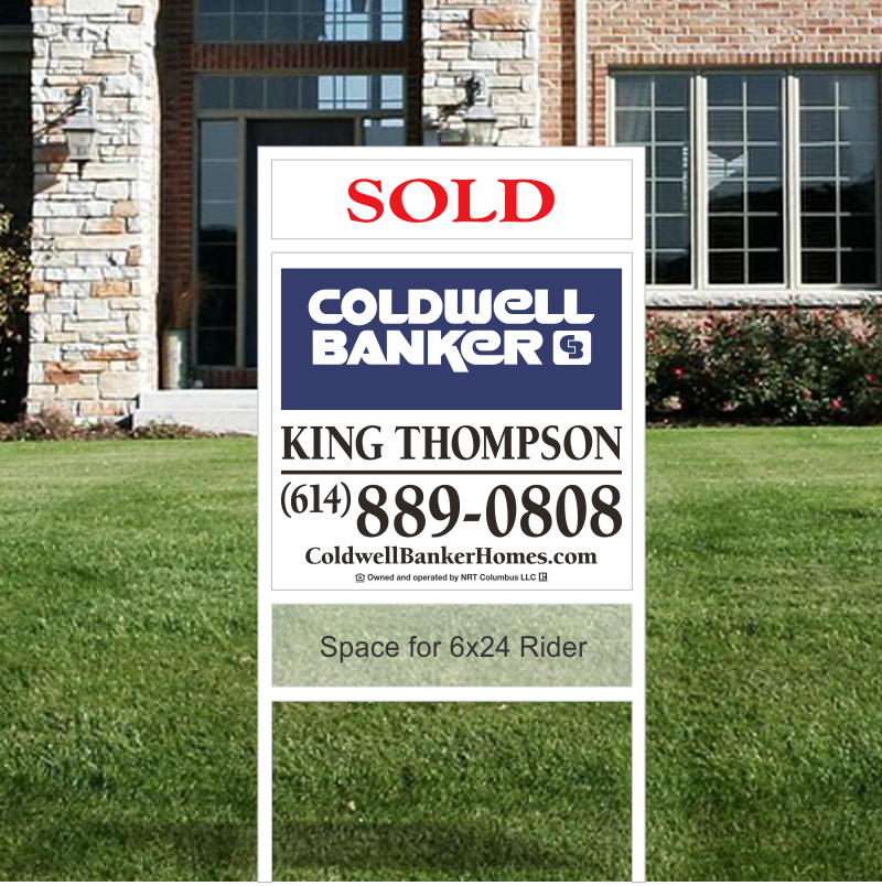 Coldwell Banker King Thompson Slip-in Sign Units-Company-KT51_22X24_164
