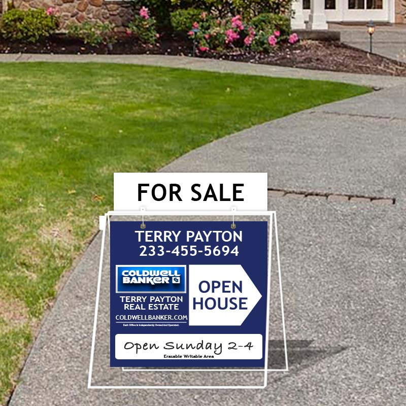 Coldwell Banker Open House & Directional Signs-MA30_24X24_1