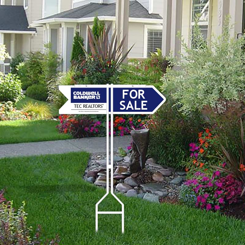 Coldwell Banker Open House & Directional Signs-TST1_ARROW_1
