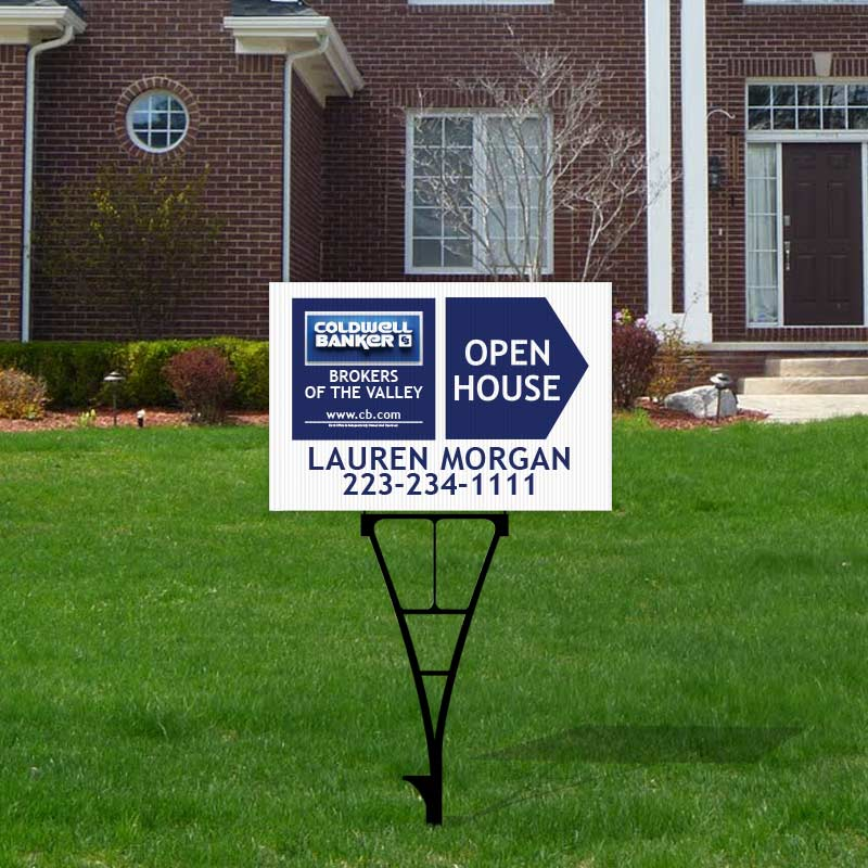 Coldwell Banker Open House & Directional Signs-Y74_12X18_1