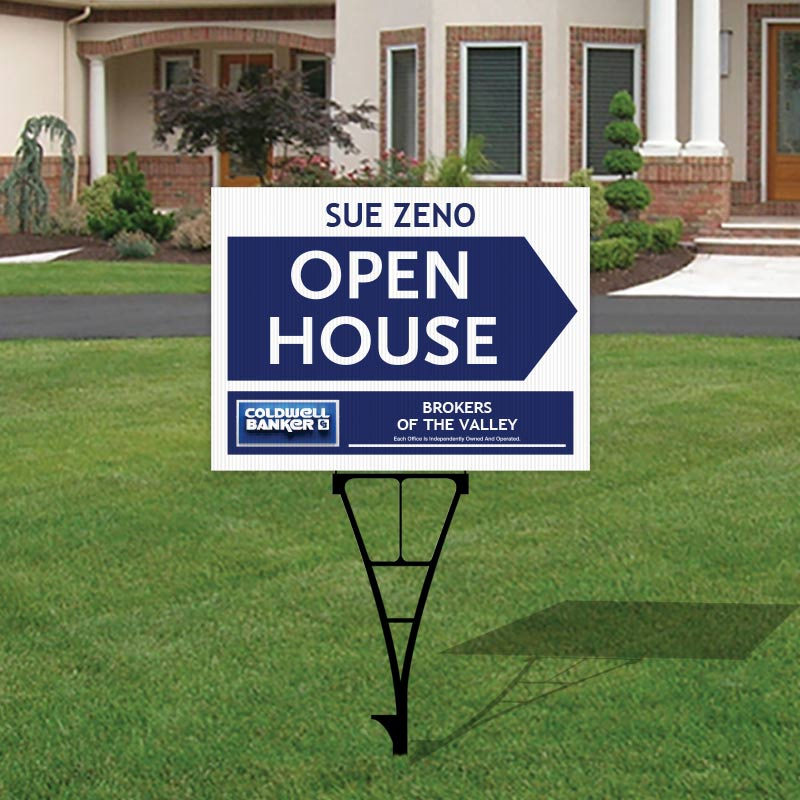 Coldwell Banker Open House & Directional Signs-Y74_18X24_CB