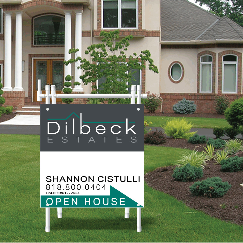 Dilbeck Real Estate Open House Signs-APV1_24X24_AGTE_149