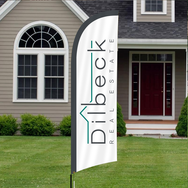 Dilbeck Real Estate Feather Flags DB2FF_149-OPT_