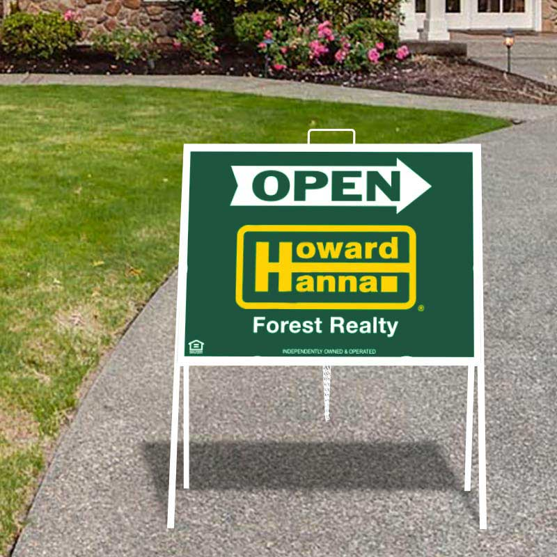Open House Signs For Howard Hanna Franchises Dee Sign