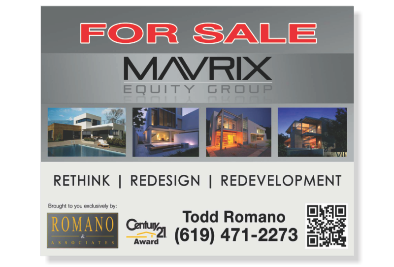 Independent Real Estate Signs & Frames-24X30_DG_7