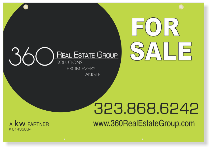 Independent Real Estate Hanging Sign Panels-24X36_SC_HP_7