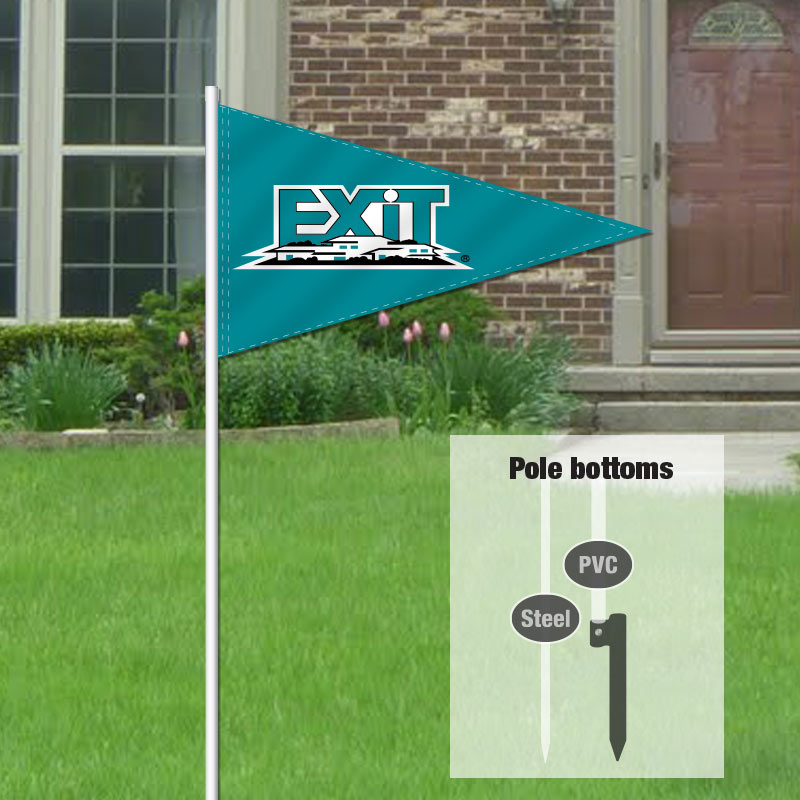 Independent Real Estate Pennant Flag-EXIT0001_7