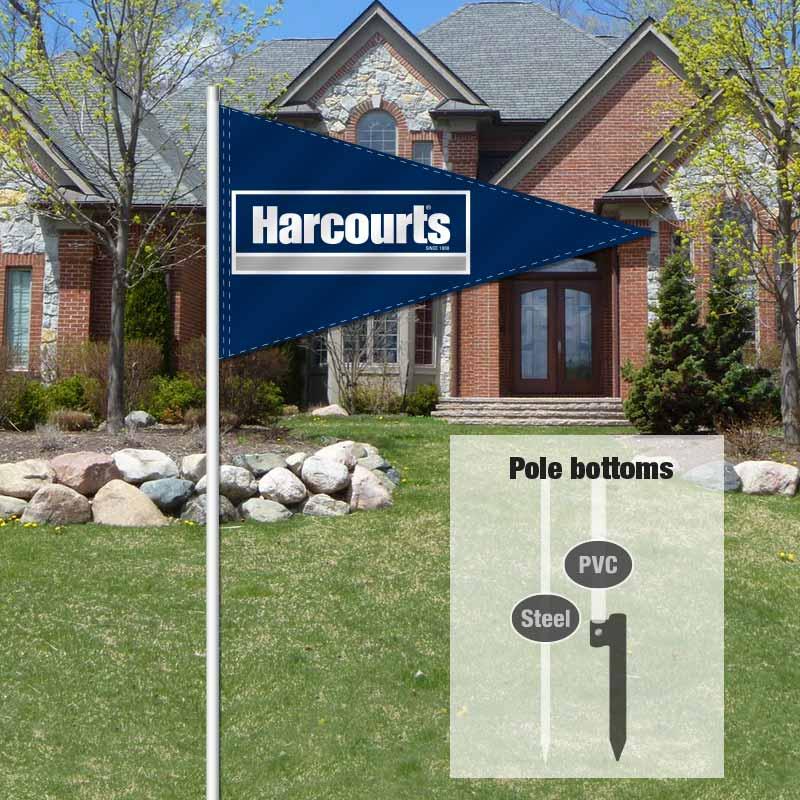Independent Real Estate Pennant Flag-HARCTS01_FLG_7