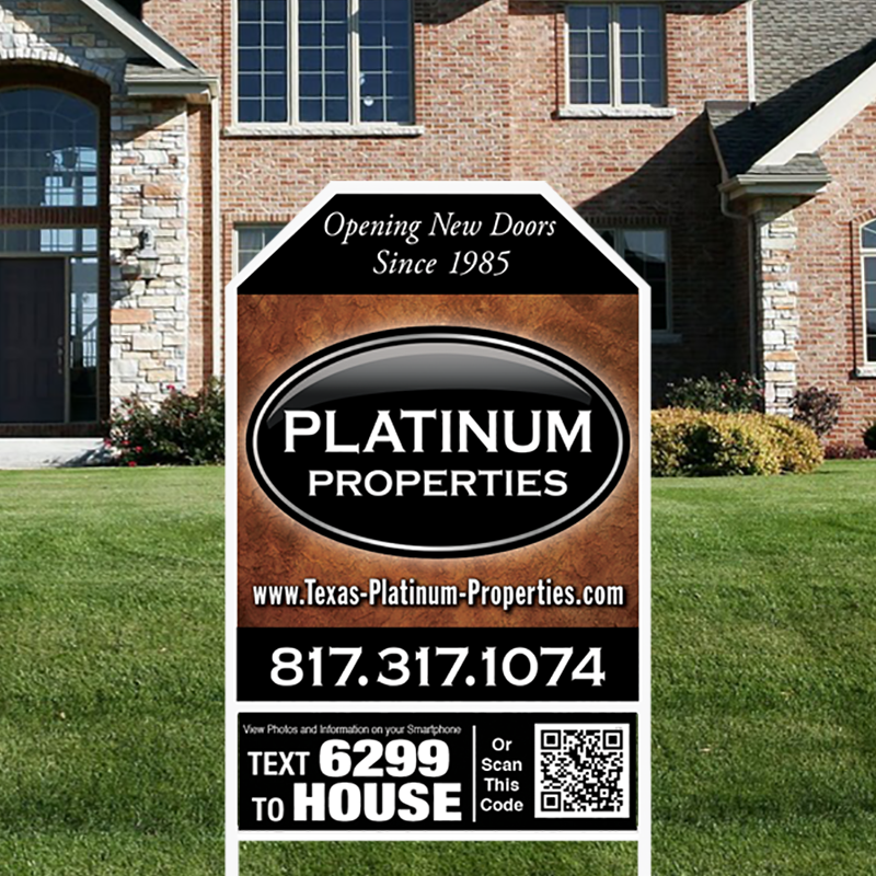 Independent Real Estate Signs & Frames-IND226