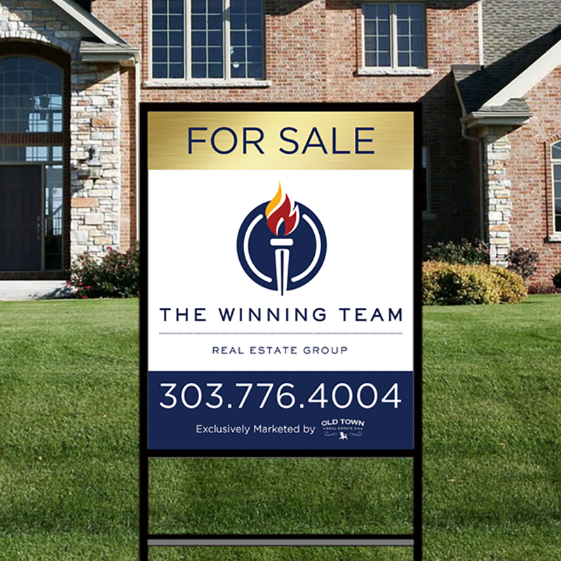 Independent Real Estate Signs & Frames-IND252