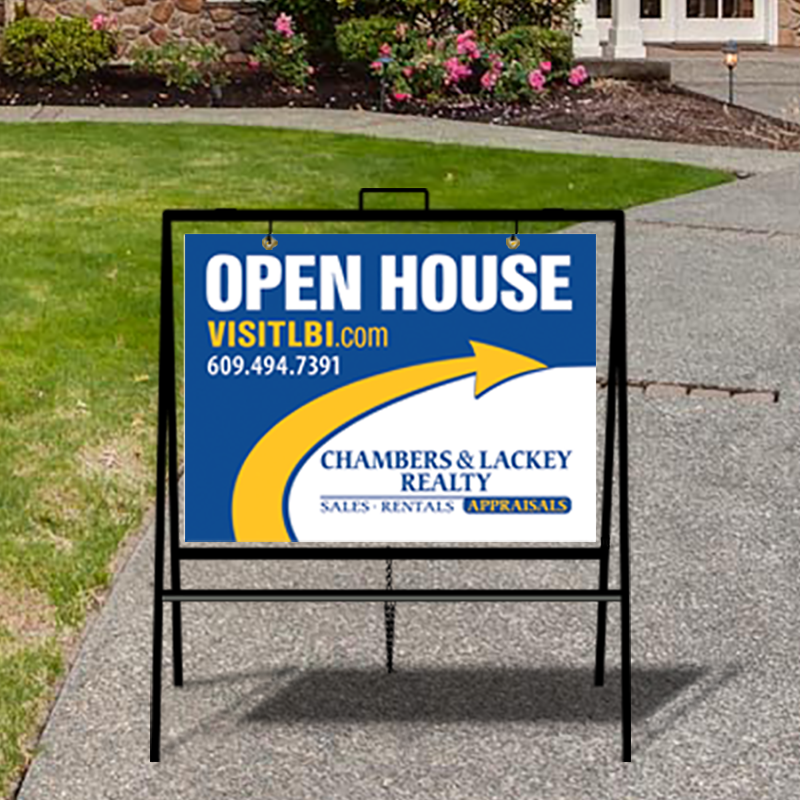 Independent Real Estate Open House & Directional Signs-INDA229
