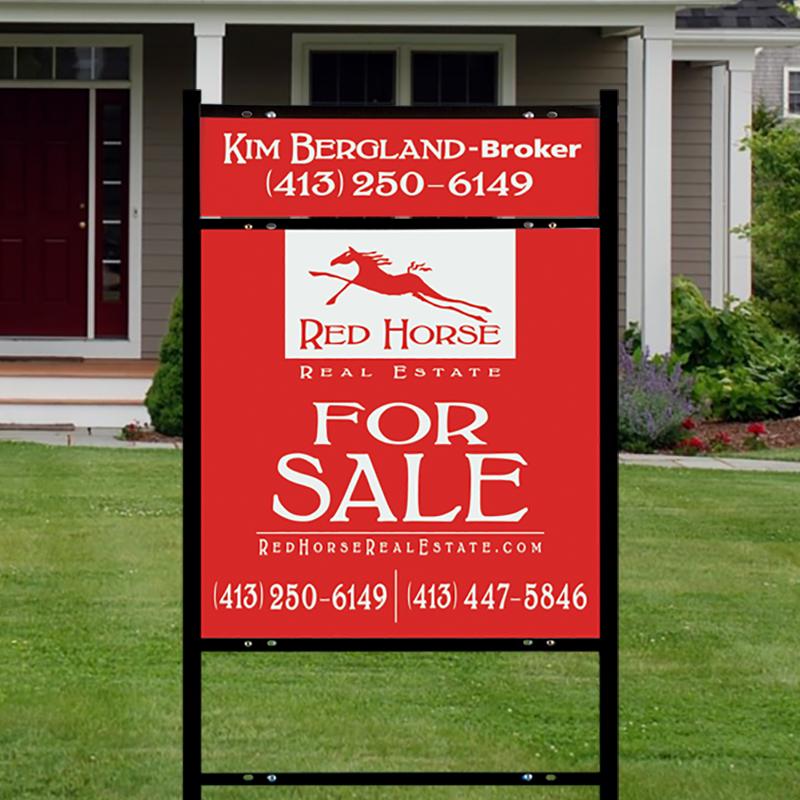 Independent Real Estate Signs & Frames-INDA50