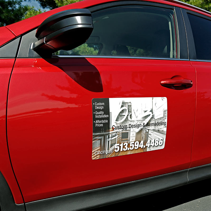 Independent Real Estate Magnetic Car Signs-INDMAG12X18