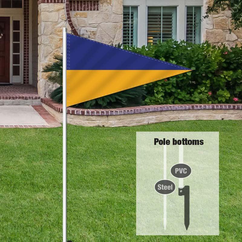 Independent Real Estate Pennant Flag-LBLUEGLD_FLG_7